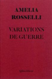 Variations De Guerre - Couverture - Format classique
