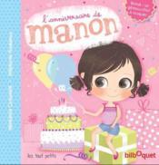 L'anniversaire de Manon - Couverture - Format classique