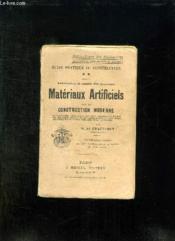 Guide Pratique Du Constructeur. Fabrication Et Emploi Des Nouveaux Materiaux Artificiels Pour La Construction Moderne. - Couverture - Format classique