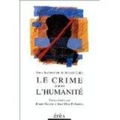 Le crime contre l'humanite - Couverture - Format classique