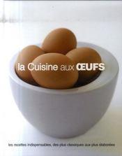 La cuisine aux oeufs - Intérieur - Format classique