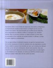 La cuisine aux oeufs - 4ème de couverture - Format classique