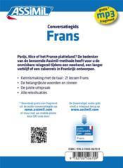 GUIDES DE CONVERSATION ; frans - 4ème de couverture - Format classique