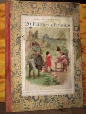 20 Fables Choisies - Couverture - Format classique