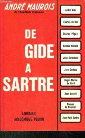 De Gide A Sartre - Couverture - Format classique