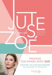 Agenda Juste Zoé (édition 2020/2021) - Couverture - Format classique