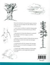 L'art de dessiner les paysages - 4ème de couverture - Format classique
