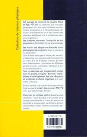 Chimie Spe Psi Psi 2 Edition Cours + Annales 97 + Corriges - 4ème de couverture - Format classique