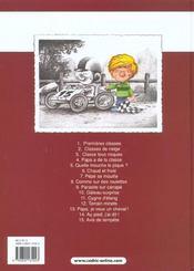 Cédric t.15 ; avis de tempete - 4ème de couverture - Format classique