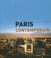 Paris contemporain 20-21eme siecle - Couverture - Format classique