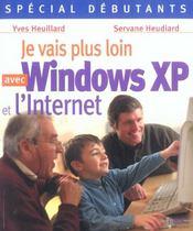 Je vais plus loin avec windows xp et l'internet - Intérieur - Format classique