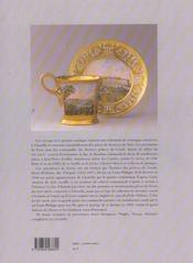 Porcelaines du musee conde a chantilly sevres... paris, bayeux, limoges, vienne, naples et meissen.. - 4ème de couverture - Format classique
