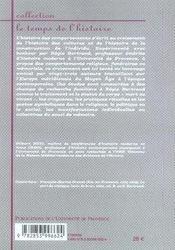 Comportements, croyances et mémoires ; europe méridionale, xv-xx siècle - 4ème de couverture - Format classique