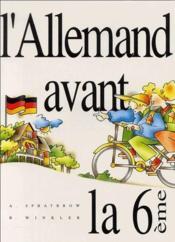 L'allemand avant la 6ème ; livret - Couverture - Format classique
