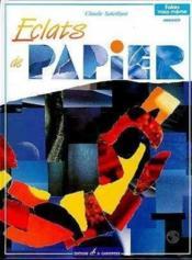 Eclats De Papier - Couverture - Format classique