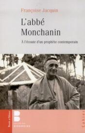 L'abbé Monchanin - Couverture - Format classique
