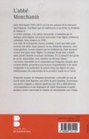 L'abbé Monchanin - 4ème de couverture - Format classique