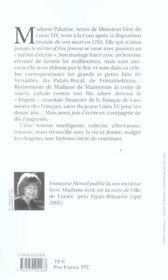 Madame ecrit - 4ème de couverture - Format classique