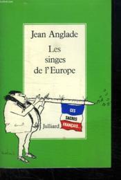 Les Singes De L Europe. - Couverture - Format classique