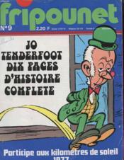 Fripounet N°9 - Jo Tenderfoot Dix Pages D'Histoire Complete - Couverture - Format classique