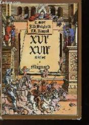 XVIeme - XVIIeme SCIECLES - Couverture - Format classique