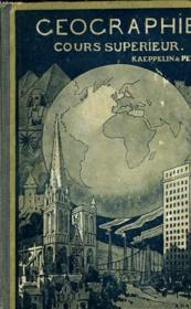 Geographie Ou Cours Superieur - Couverture - Format classique