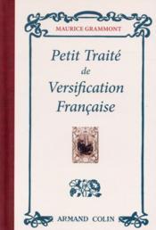 Petit traité de versification française - Couverture - Format classique