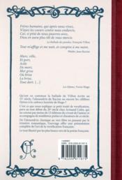 Petit traité de versification française - 4ème de couverture - Format classique
