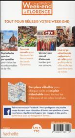 Un grand week-end ; Florence - 4ème de couverture - Format classique