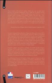 Musée Camille Claudel ; guide des collections - 4ème de couverture - Format classique