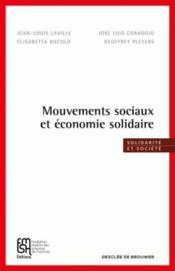 Mouvements sociaux et économie solidaire - Couverture - Format classique