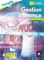 TREMPLIN ; gestion finance ; terminale STMG ; spécialité ; livre de l'élève (édition 2020) - Couverture - Format classique