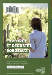 GUIDE PETIT FUTE ; CARNETS DE VOYAGE ; Gironde (édition 2021/2022) - 4ème de couverture - Format classique