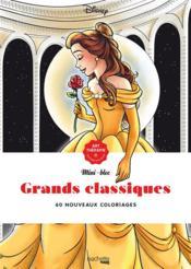 Art-thérapie ; mini-bloc ; grands classiques ; 60 nouveaux coloriages - Couverture - Format classique