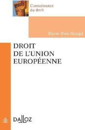 Droit de l'union européenne - Couverture - Format classique
