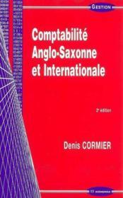 Comptabilite Anglo-Saxonne Et Internationale - Couverture - Format classique