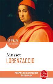 Lorenzaccio - Couverture - Format classique
