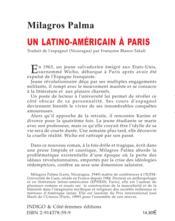 Latino Americain A Paris - Couverture - Format classique