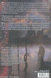 Le papyrus de venise - 4ème de couverture - Format classique