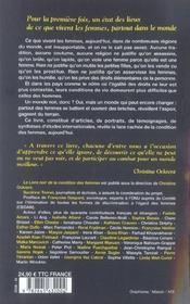 Le livre noir de la condition des femmes - 4ème de couverture - Format classique