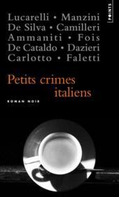 Petits crimes italiens - Couverture - Format classique