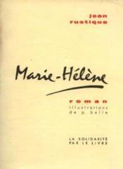Marie Hélène - Couverture - Format classique