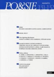 Revue Po&Sie N.131 ; T.132 - Couverture - Format classique
