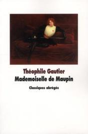 Mademoiselle de Maupin - Couverture - Format classique