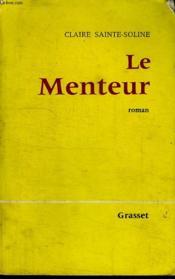 Le Menteur. - Couverture - Format classique