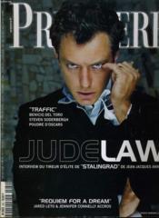 Premiere N° 289 - Jude Law, Interview Du Tireur D'Elite De