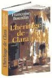 L'Héritage de Clara - Couverture - Format classique