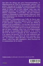 Imperium ; structures et affects des corps politiques - 4ème de couverture - Format classique