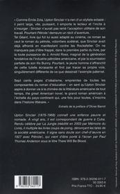 Pétrole ! there will be blood - 4ème de couverture - Format classique