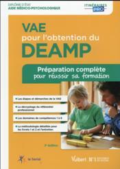 VAE pour l'obtention du DEAMP (3e édition) - Couverture - Format classique